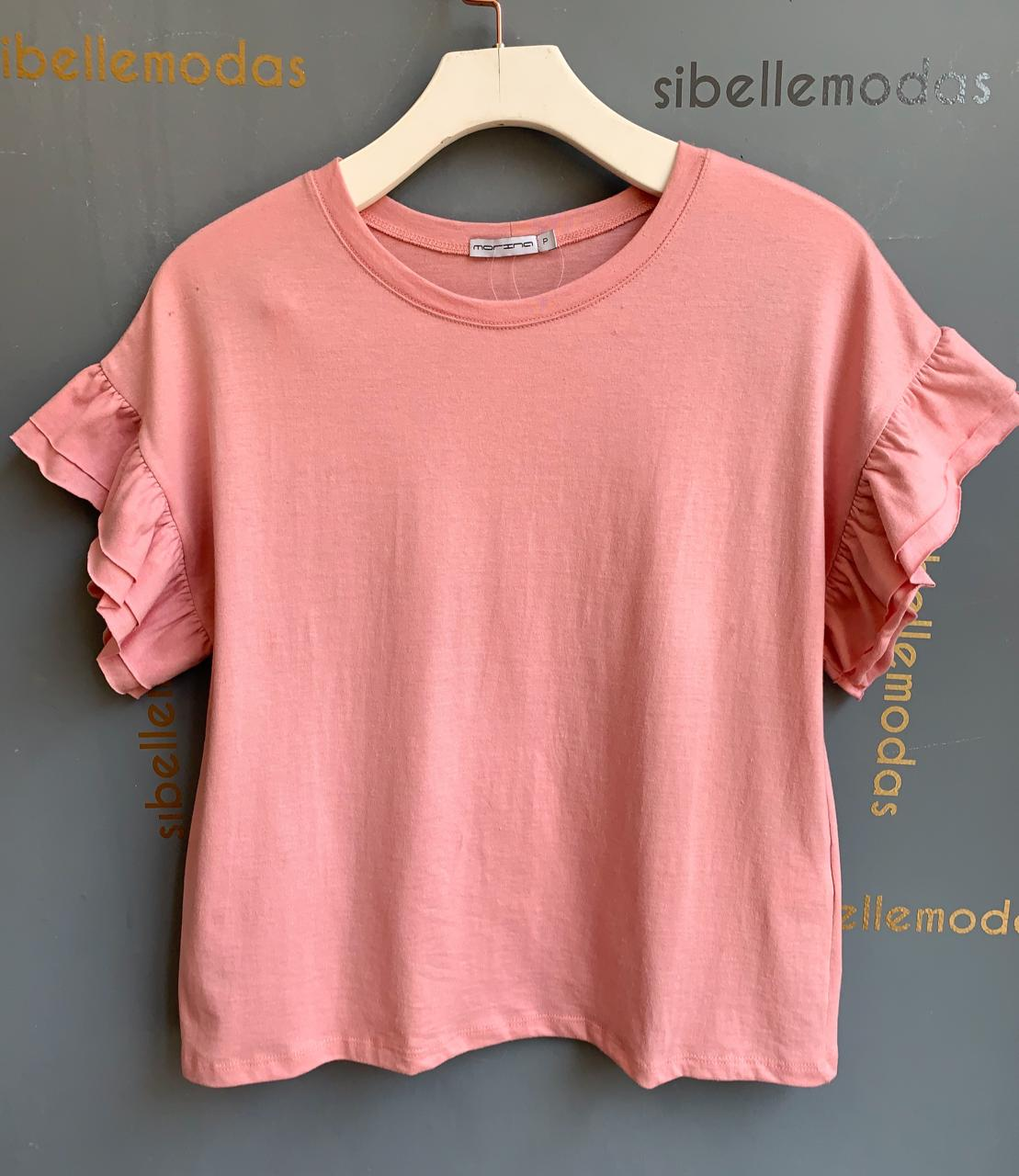 T-Shirt Morina Cotton Babado