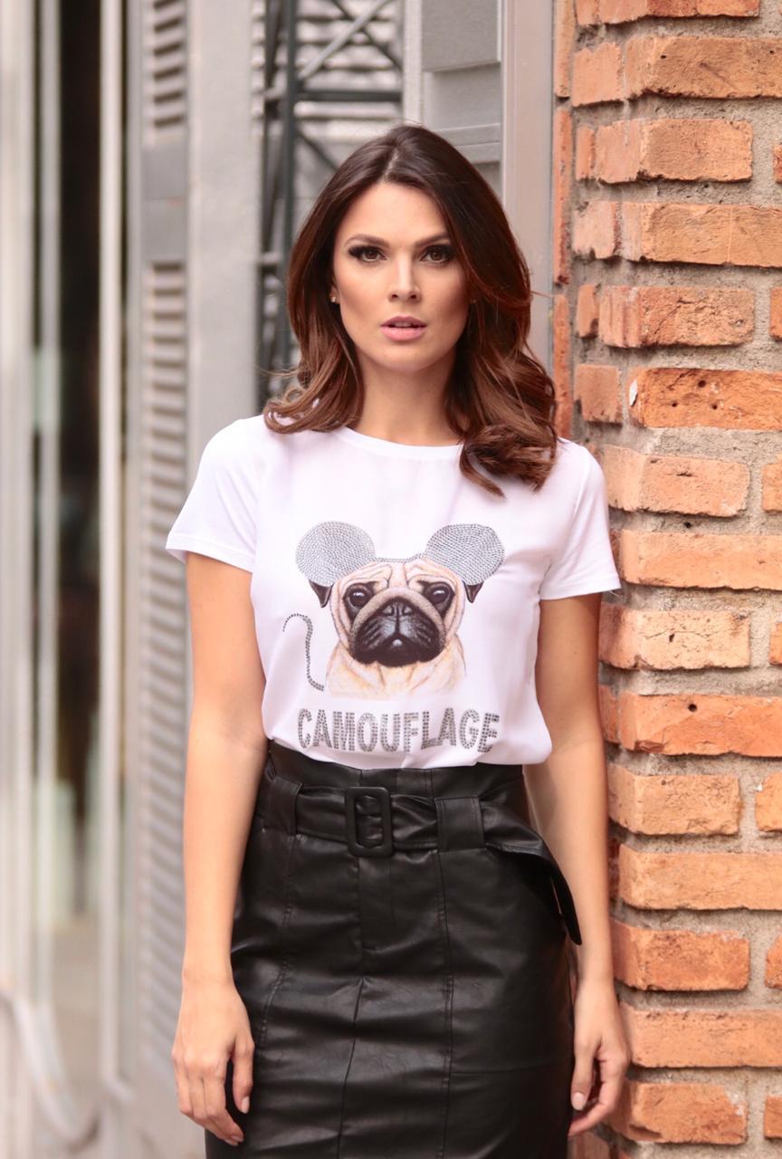 T-Shirt Nuxx Pug viscolycra