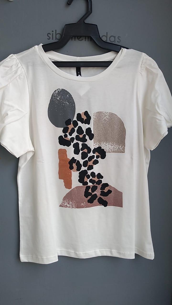 T-Shirt  Eva Estampa Onça