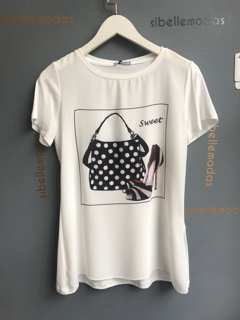 T-shirt Sweet Viscolycra
