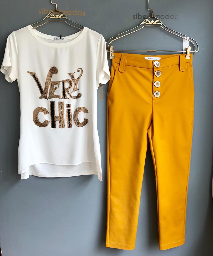 T-Shirt  Very Chic   Viscolycra
