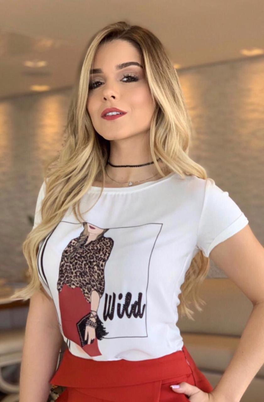 T-shirt Wild Viscolycra