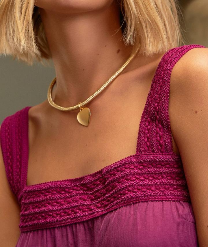 Vestido Ariane Viscocrepe Detalhe Camadas