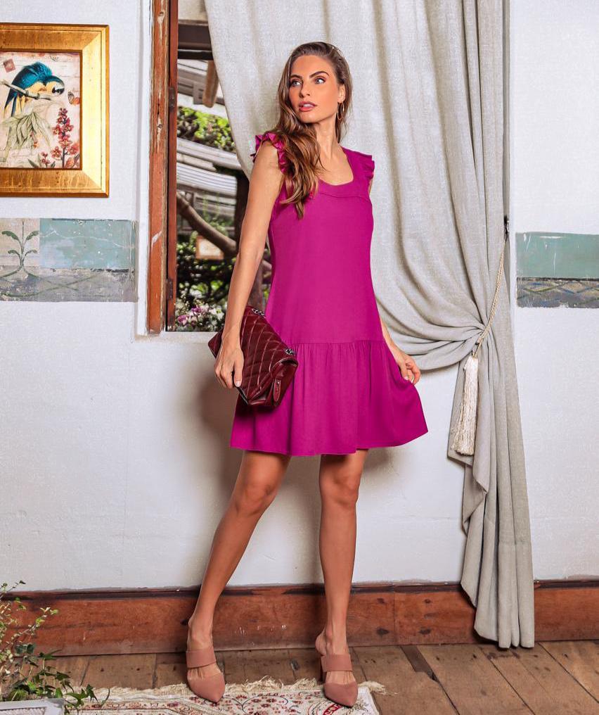 Vestido Beatriz Regata Pala