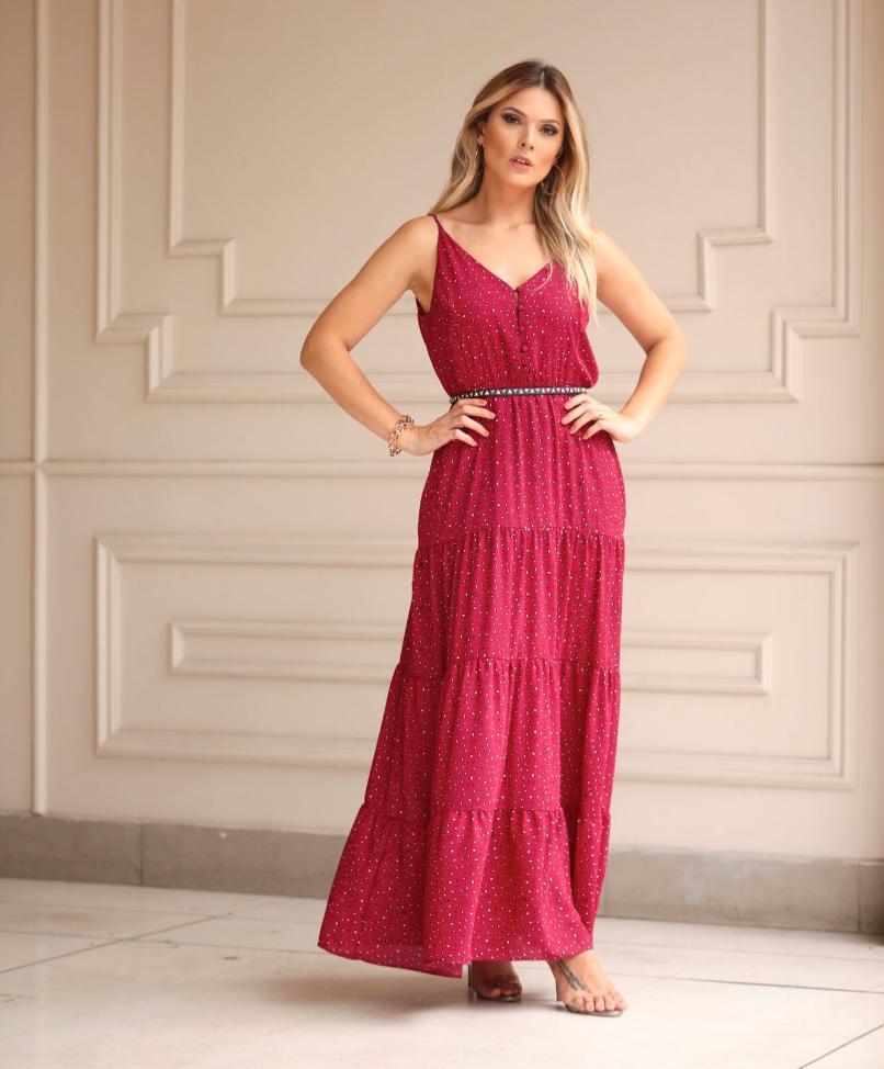 Vestido Danielle Crepe C/Cinto