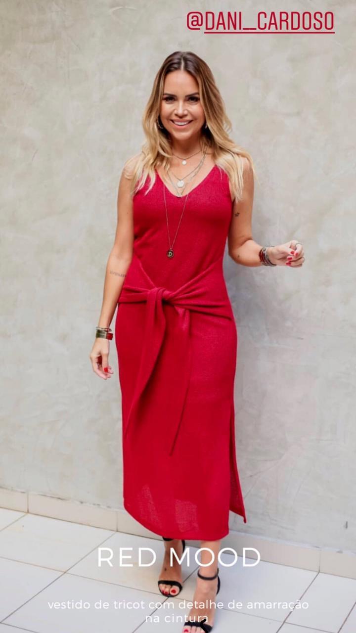 Vestido Eliana Boucle Detalhe no (forro)