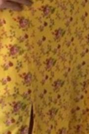 Vestido Esmeral Crepe Floral  Midi