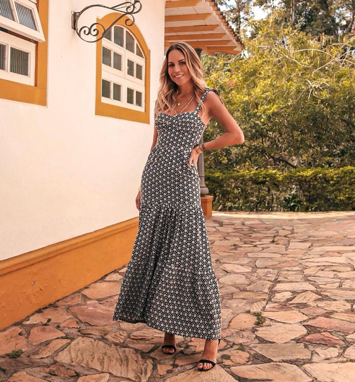 Vestido Esmeral Laise Longo