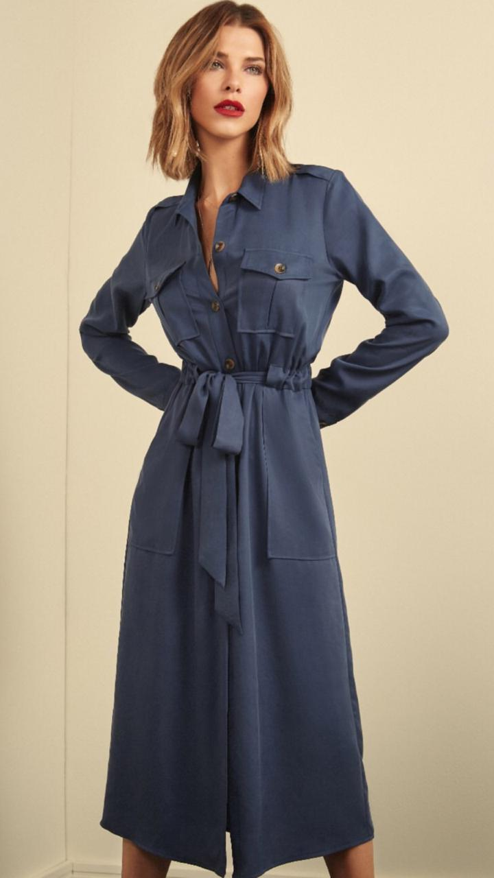 Vestido Esmeral  Liocel (sarja bem macia)