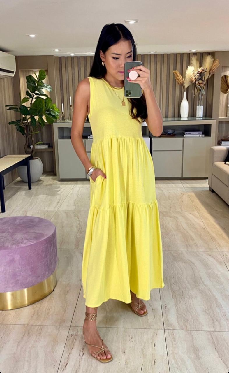 Vestido Esmeral Malha