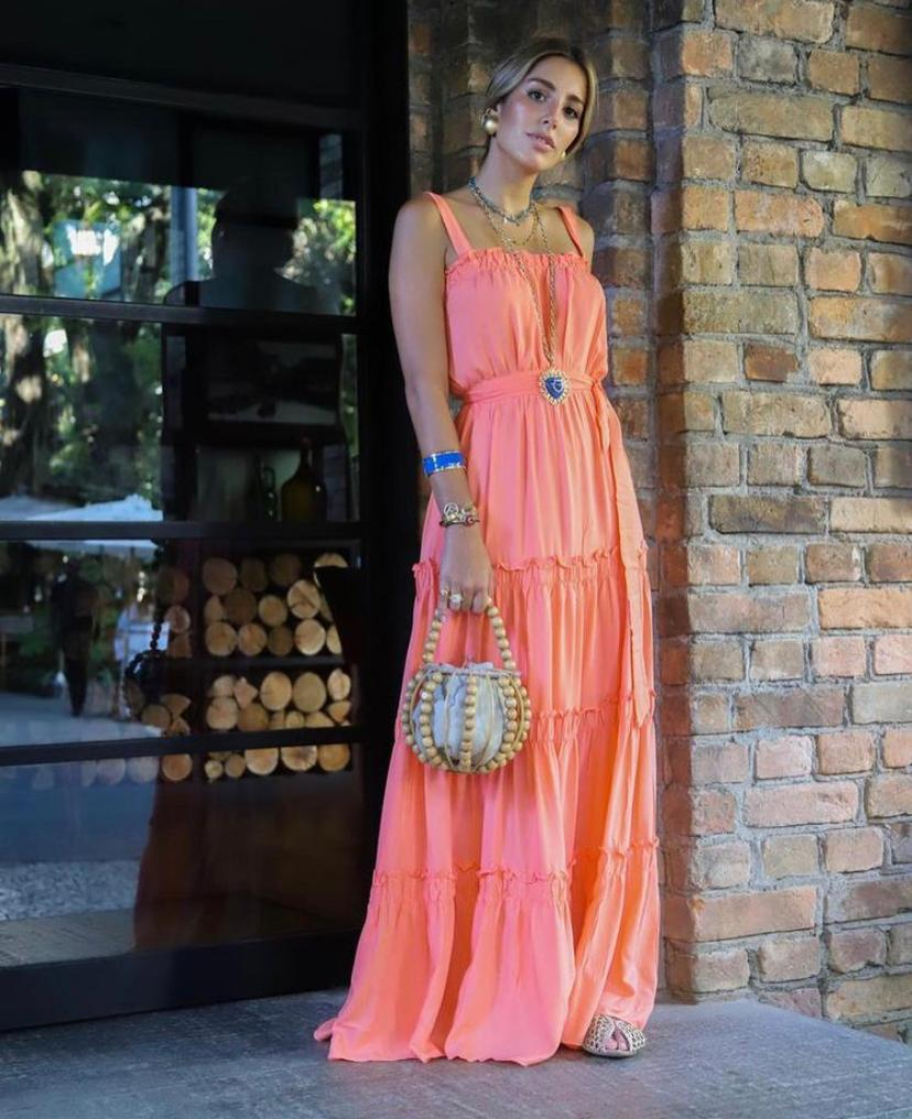 Vestido Esmeral Viscose  (Forro)