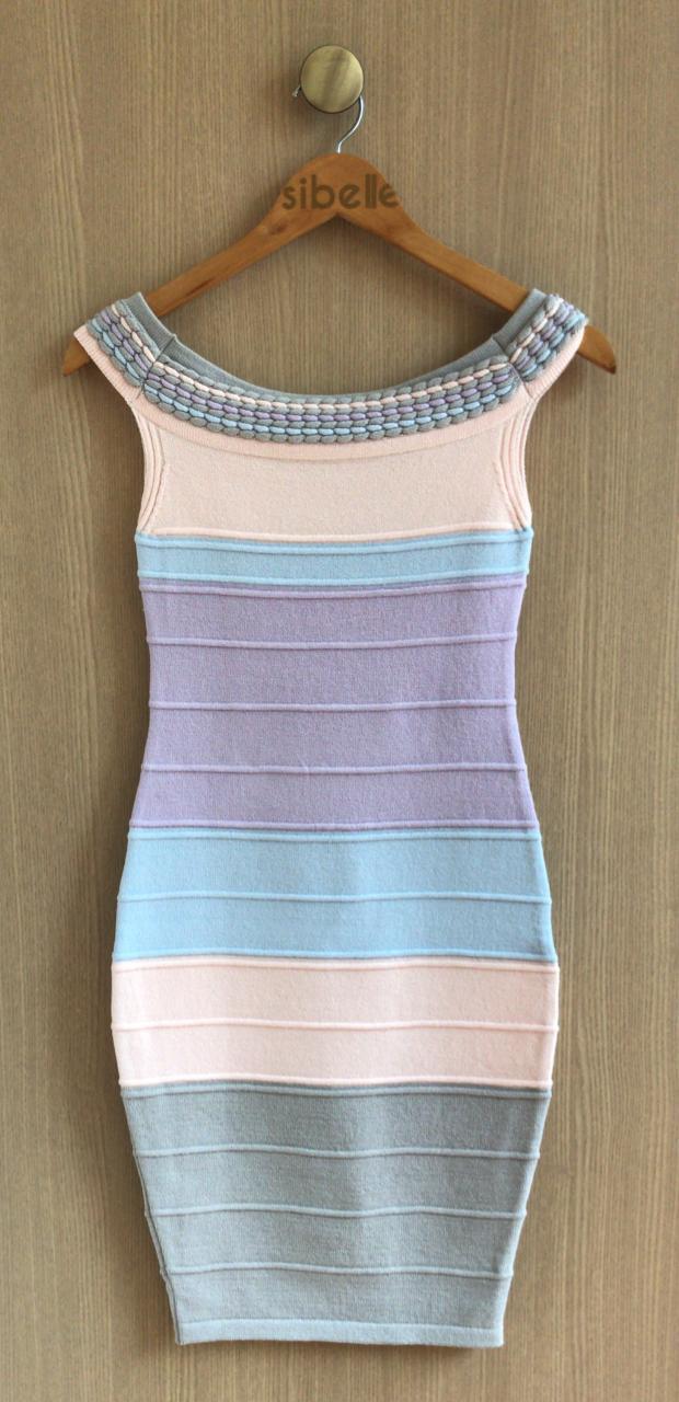 Vestido Isa Tricot  Colors