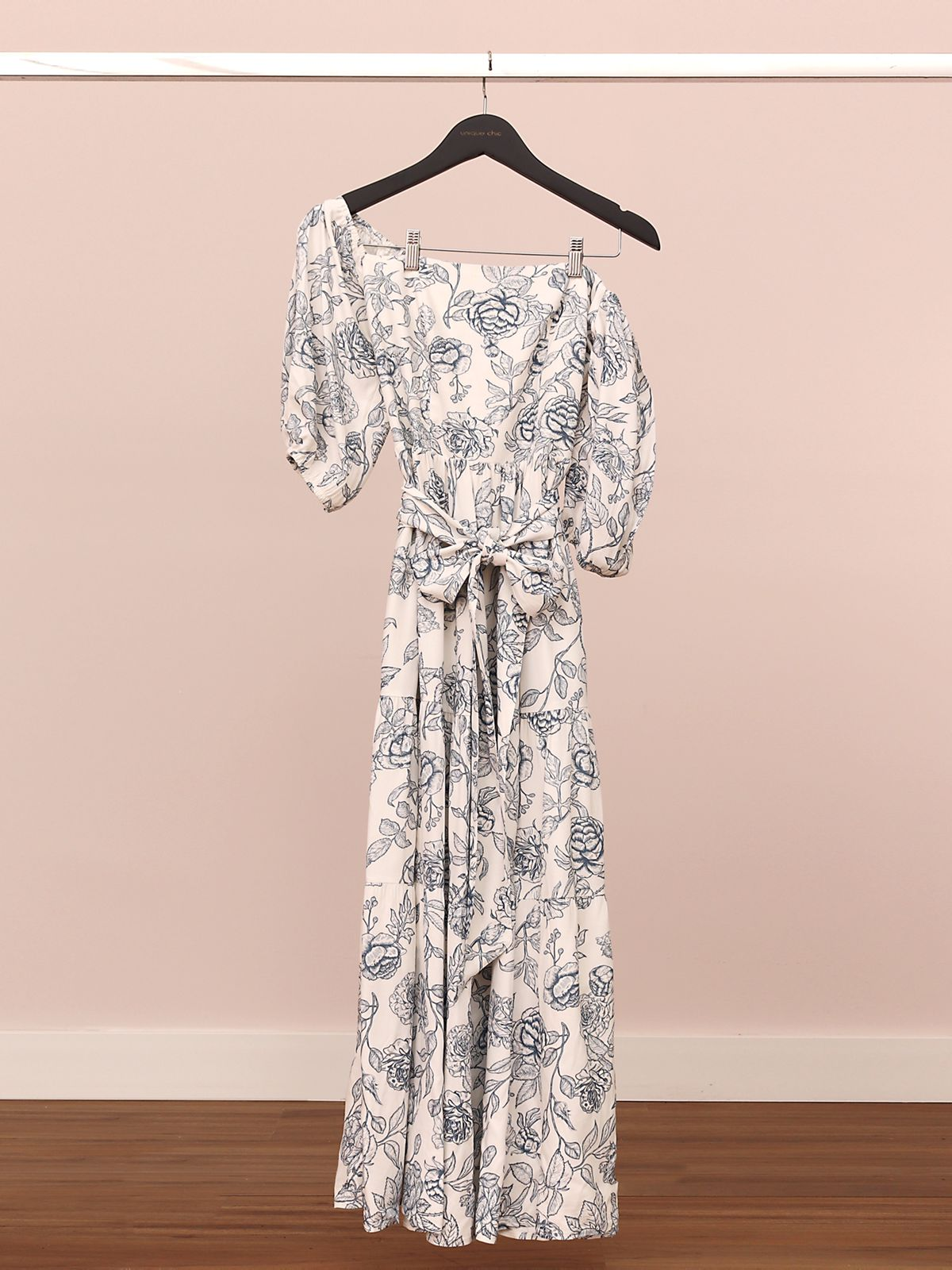Vestido Jade Viscose Encorpada Floral