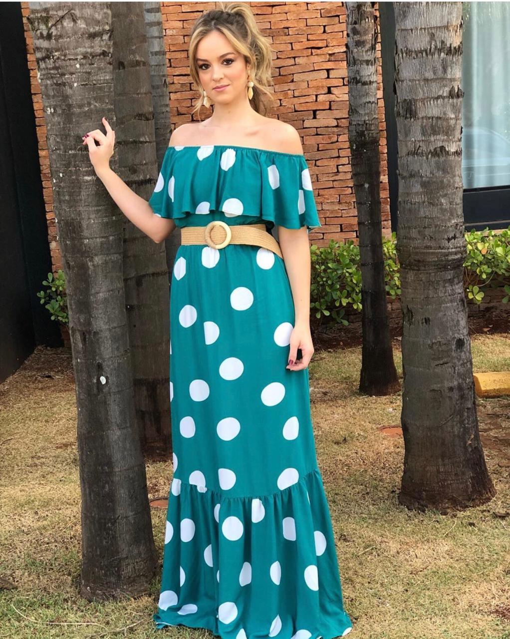 Vestido  Larissa Viscose c/ Cinto