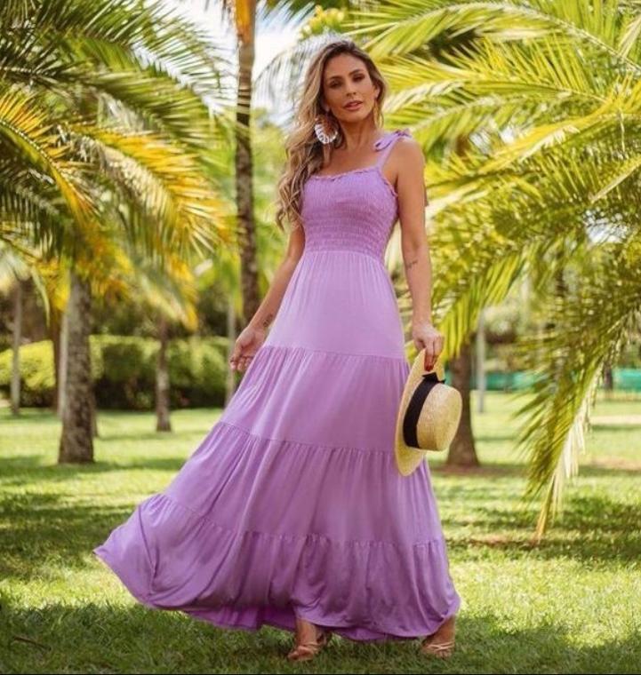 Vestido Lorraine Malha Lastex (Forro)