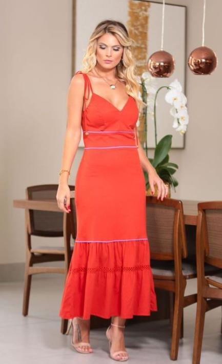Vestido Diana Malha 100% Algodão