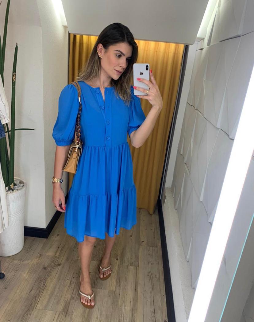 Vestido Marcela Crepe