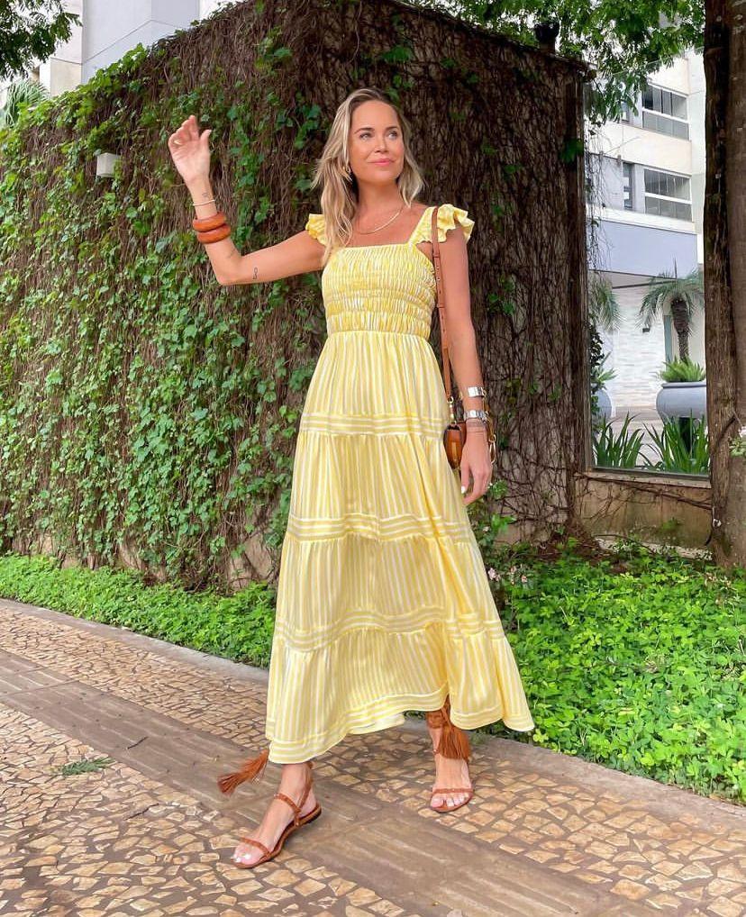 Vestido Margot Viscose Listra