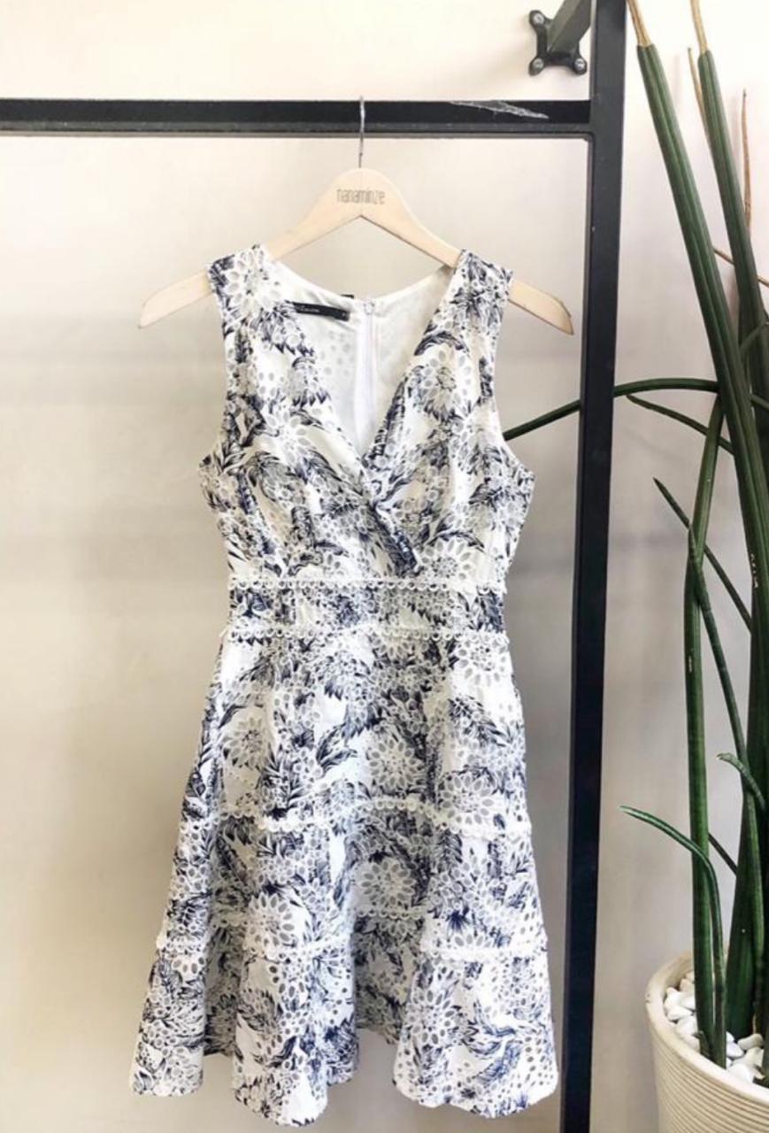 Vestido  Maria Laise  Estampado   Print