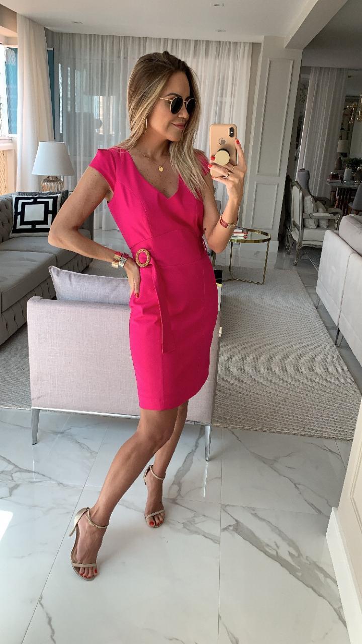 Vestido  Melissa  Pike  3% Elastano