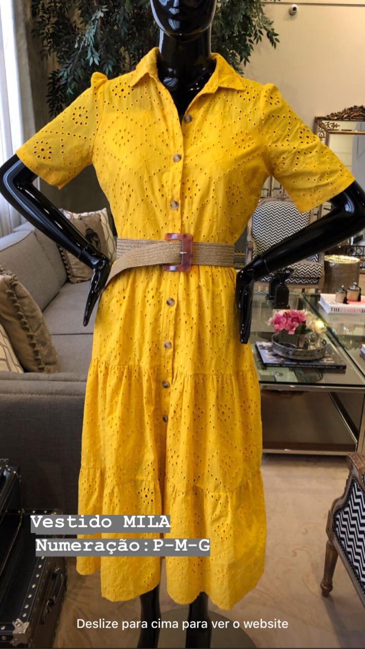 Vestido Mila Laise + Cinto