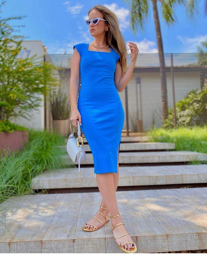 Vestido  Morina Bandagem Slim