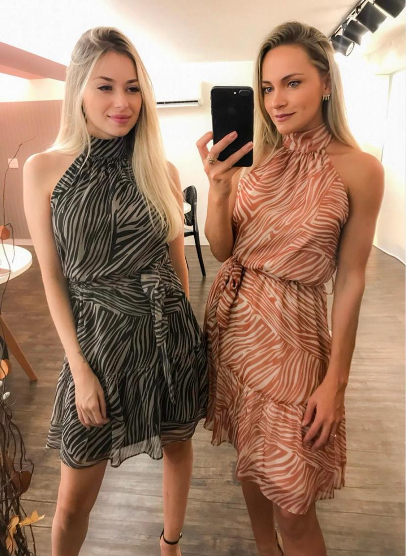 Vestido Morina Chiffon +Faixa