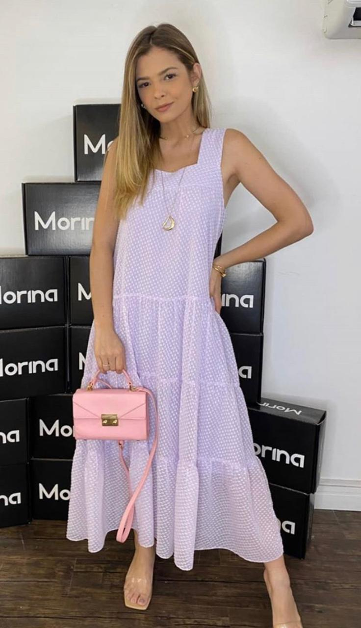 Vestido Morina Chiffon Poa