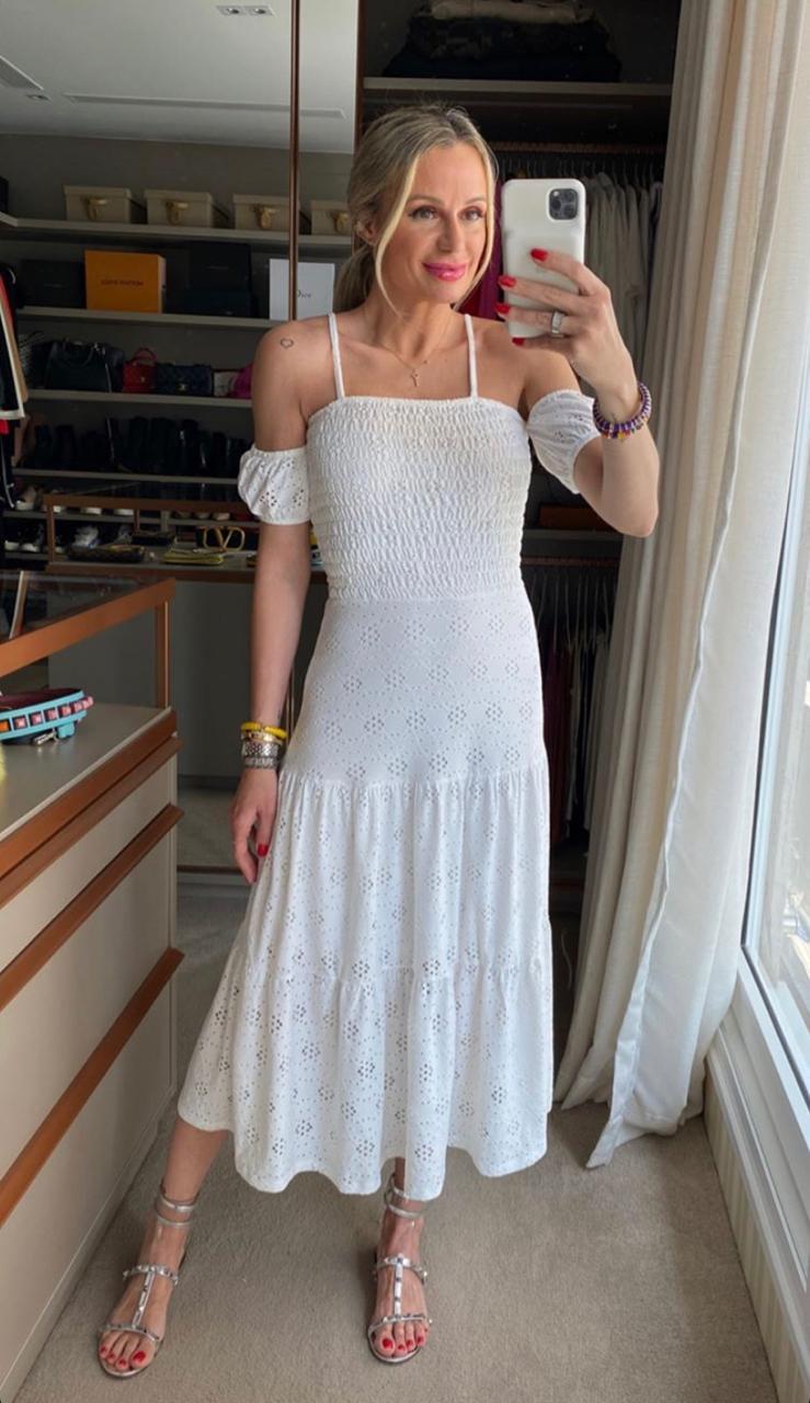Vestido Morina Laise Lastex