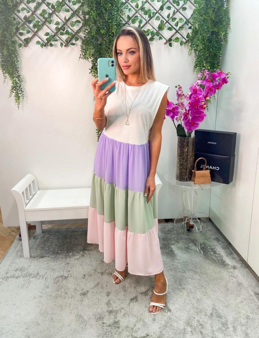 Vestido Morina Malha Com DDg