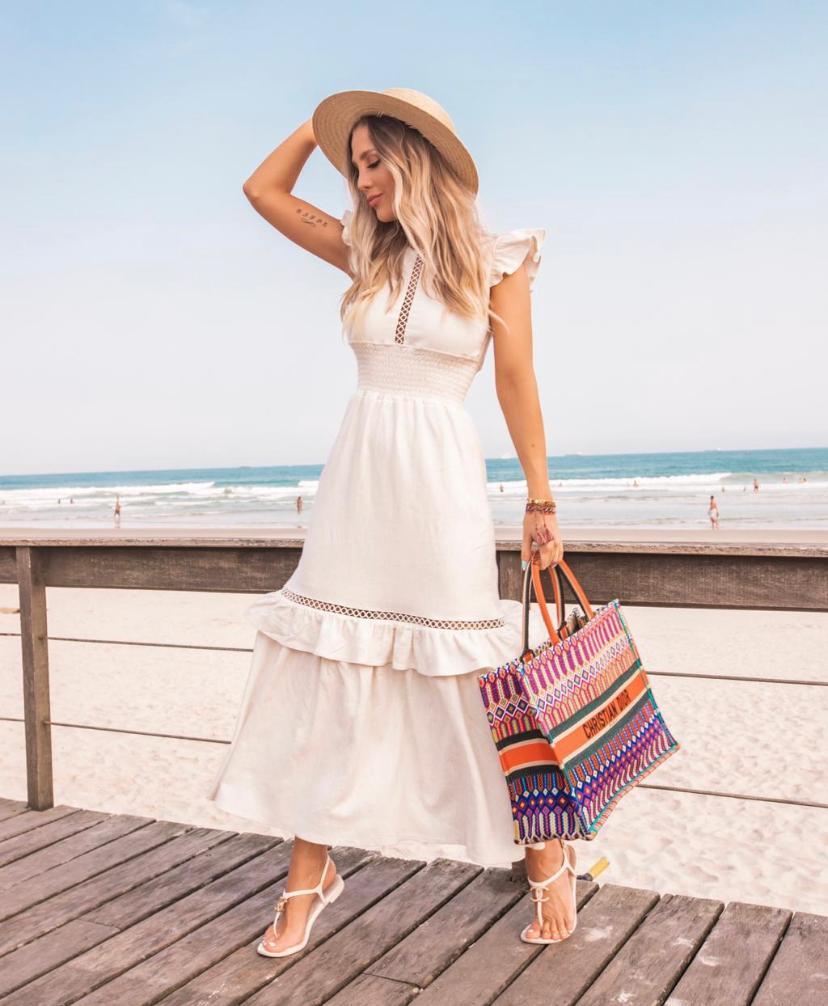 Vestido Nicole Linho Lux