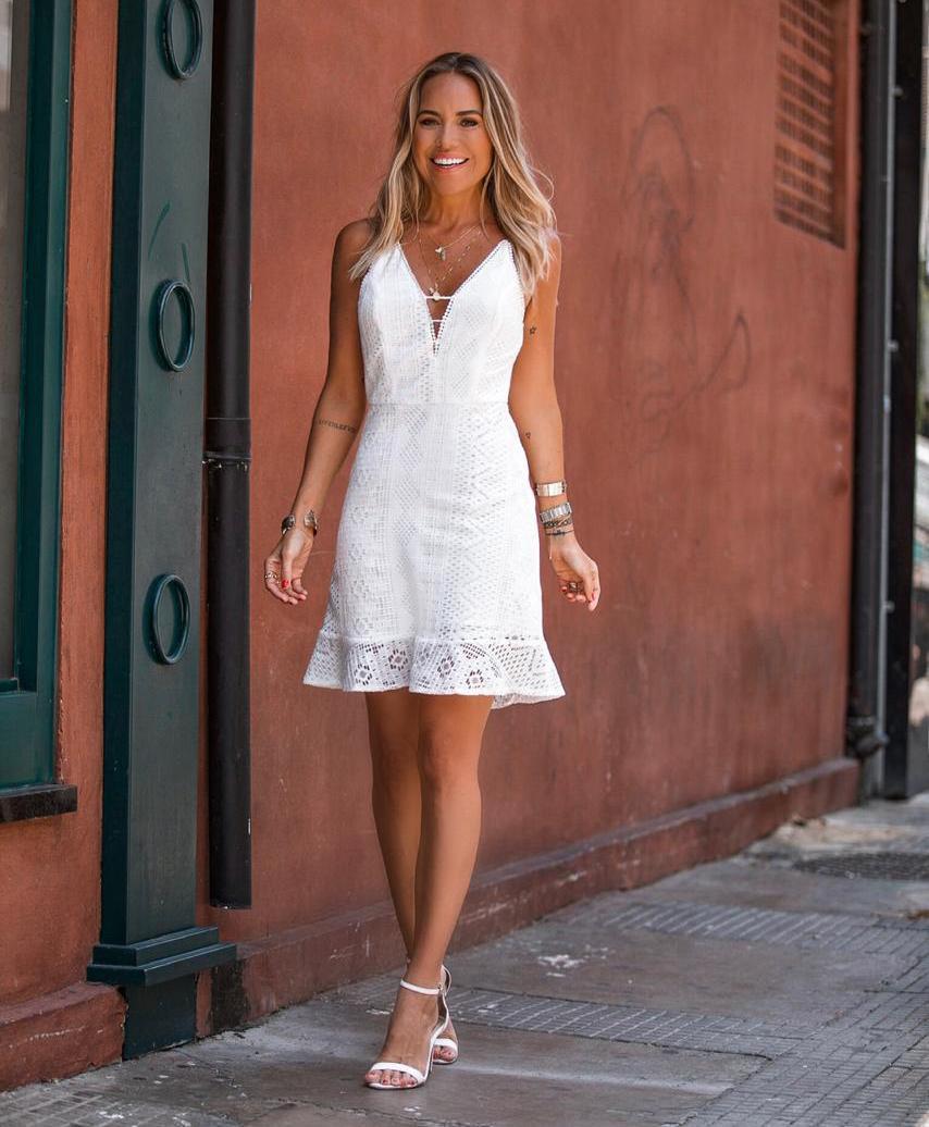 Vestido Nicole Renda Babado