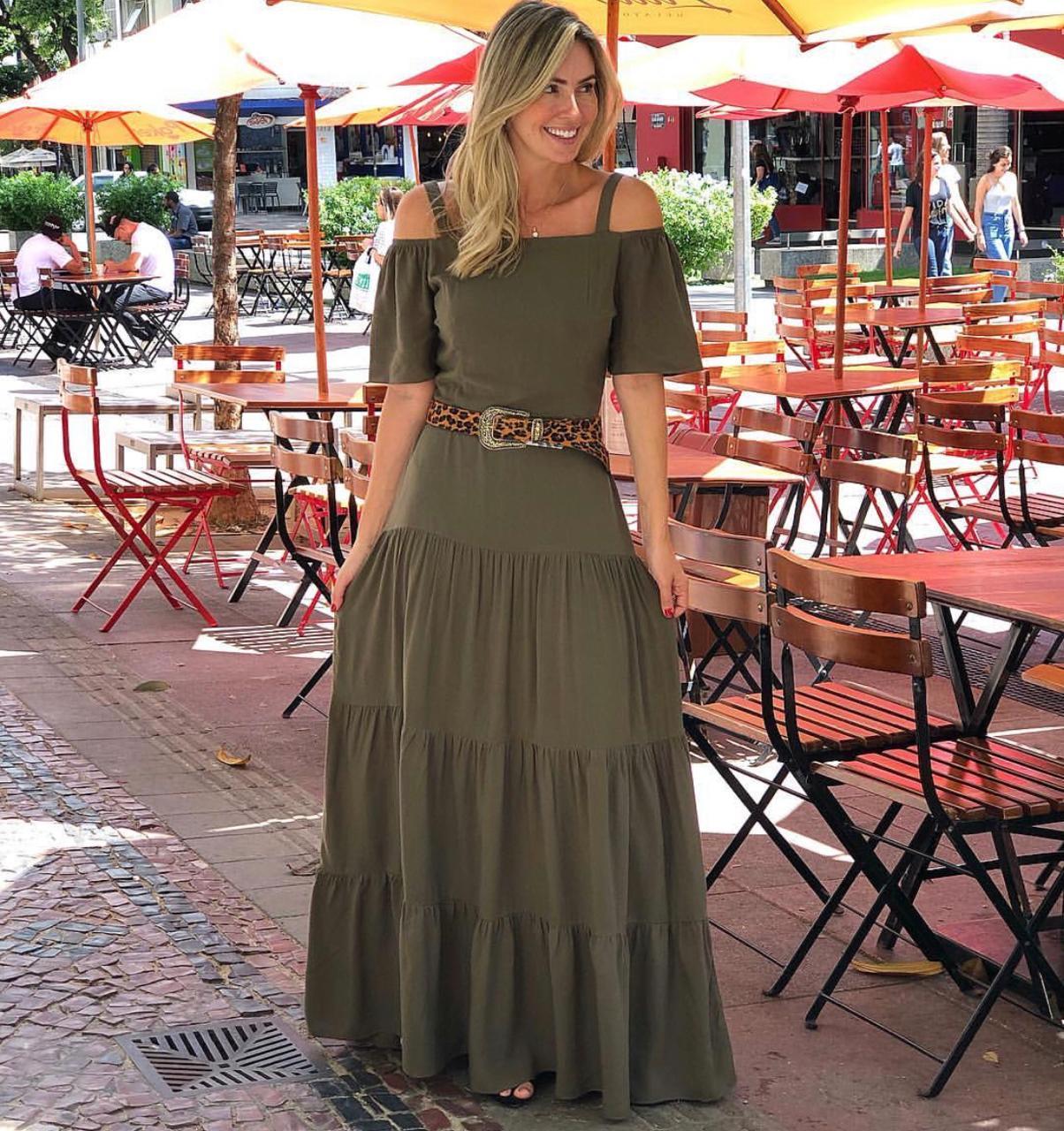 Vestido  Nicole Viscose (Forro)