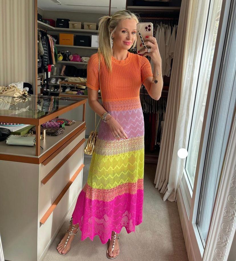 Vestido Raquel Tricot Rendado