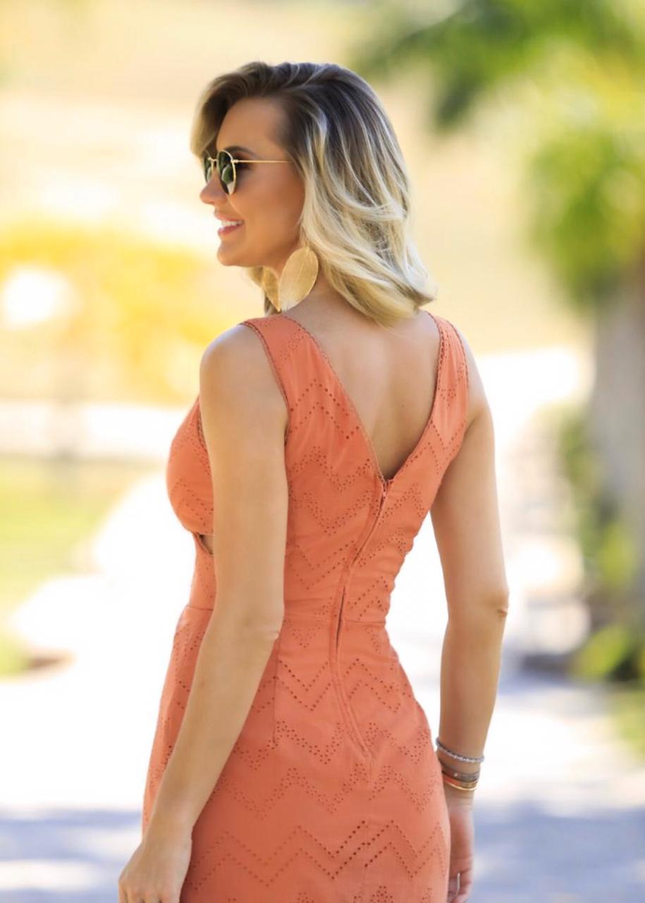 Vestido Samara Laise Barrado