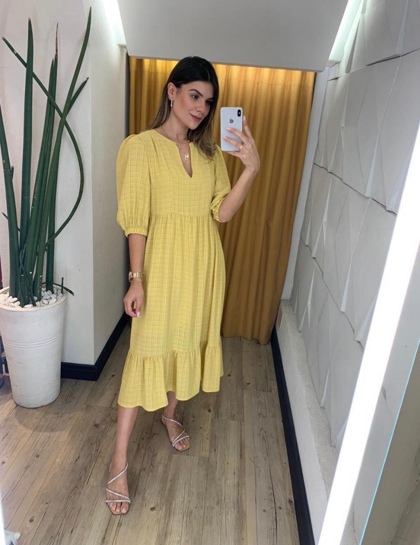 Vestido Sandra Check