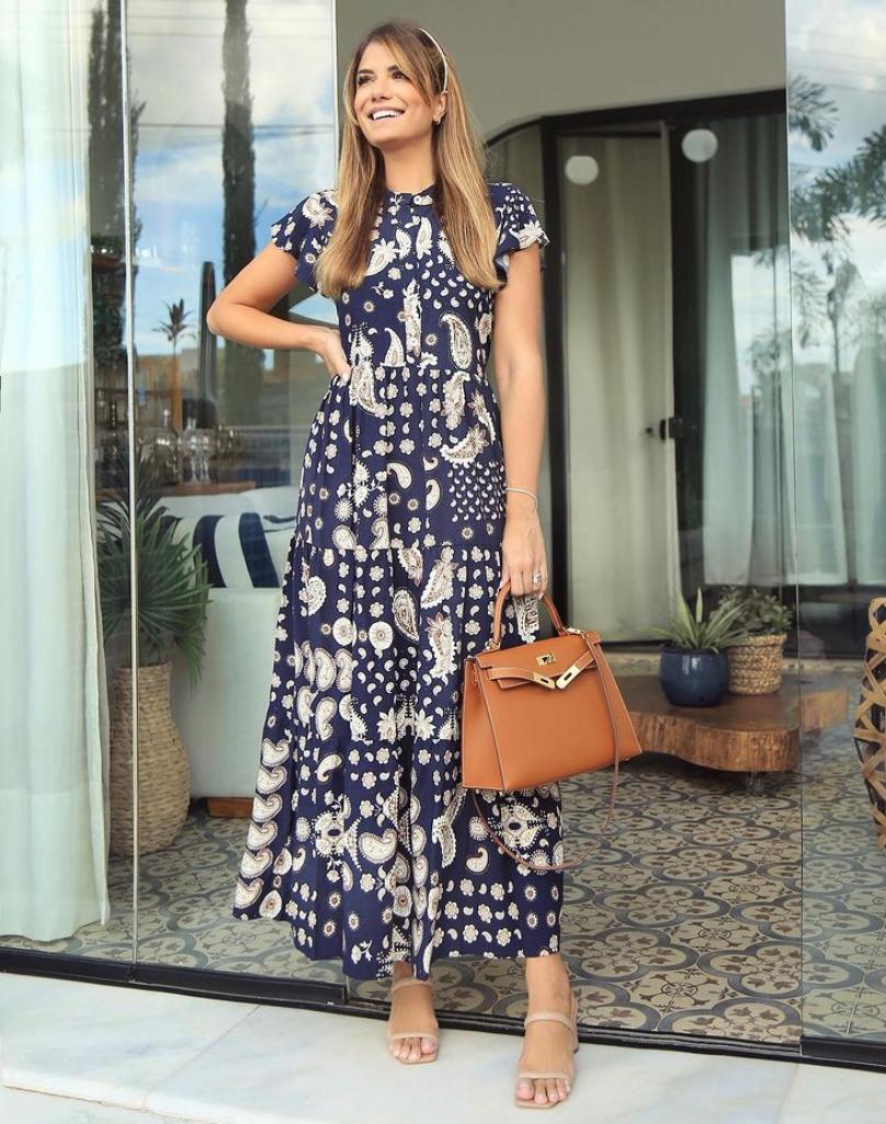 Vestido Sofie Viscose