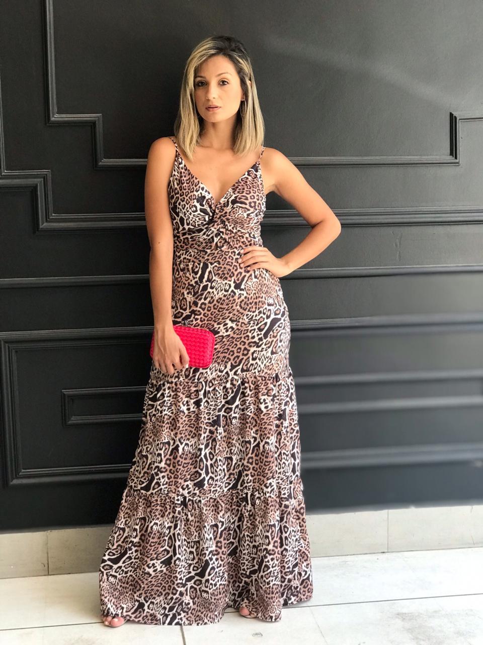 Vestido Valentina Longo Animalprint