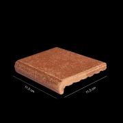 Arremate piso rústico envelho mesclado 11,5 x 11,5