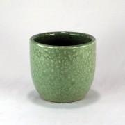 Cachepot Esmaltado P - Verde Água