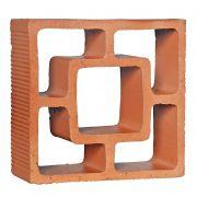 Cobogó Rústico Reto Quadrado - 18x18