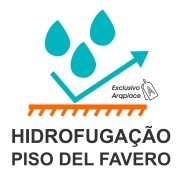 Hidrofugação de fábrica - Del Favero
