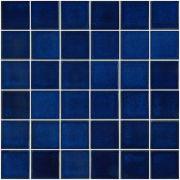 Pastilha de Porcelana 2,5 x 2,5 cm Azul Equatorial JD-4814