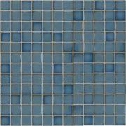 Pastilha de Porcelana 2,5 x 2,5 cm Azul Ibérico JD-4812