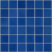 Pastilha de Porcelana 2,5 x 2,5 cm Azul Viscaya JD-4810