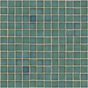 Pastilha de Porcelana 2,5 x 2,5 cm Verde Macau JD-4716