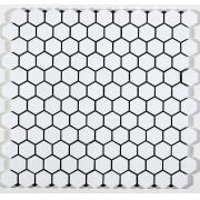 Pastilha de Porcelana Hexagonal - M-6249 - Artico