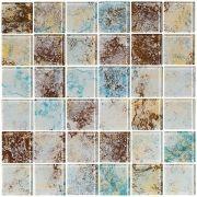 Pastilha de Vidro - 5x5 cm - Decorado - Vetrobello