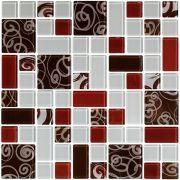 Pastilha de Vidro - Multiformato Decorado - Vetrobello