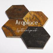 Pedra Ferro Hexagon - 10x10cm